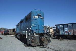 Blue Rail
