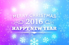 Merry Christmas and New Year 2016