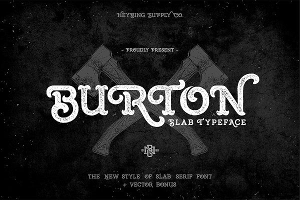 Slab Serif Fonts ~ Creative Market