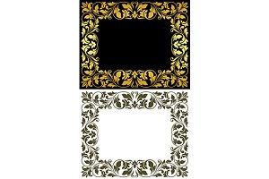 Vintage victorian frames