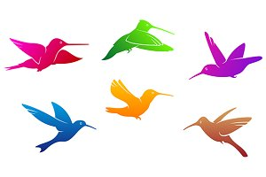 Hummingbirds symbols