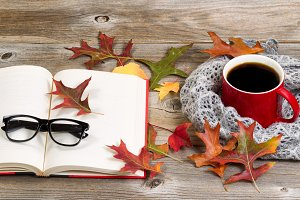 Autumn Reading with Coffee
