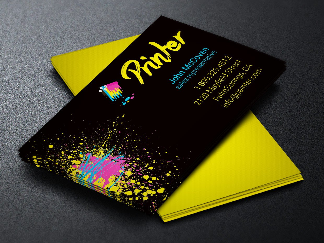 Comfortable Cool Business Card Printing Ideas - Business Card Ideas ...
