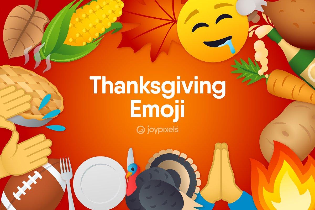 JoyPixels Thanksgiving Emoji Icons