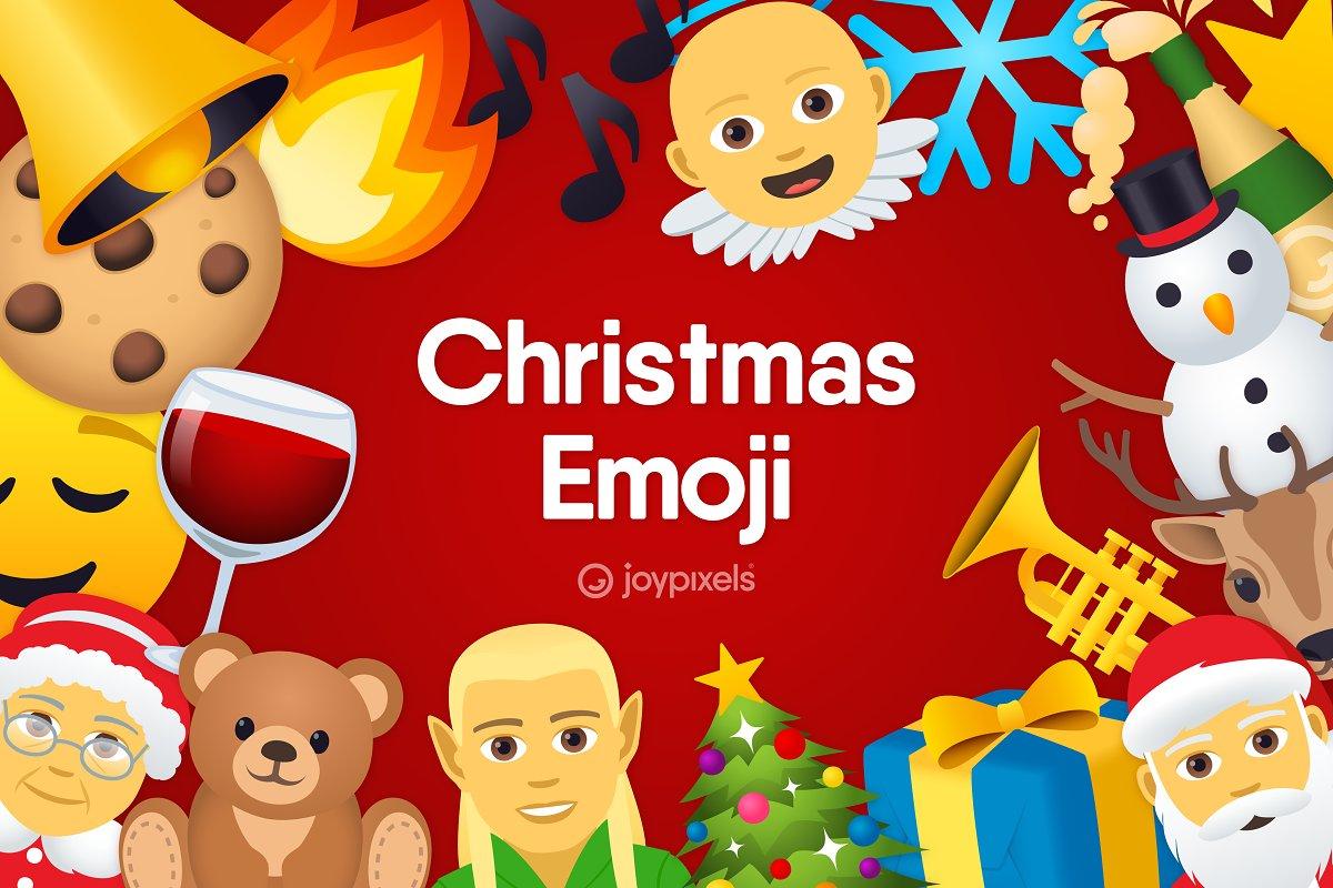 Emoji Christmas Icons by JoyPixels®