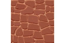 Brown stone seamless background