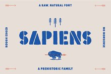 Sapiens Font Family