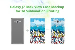Galaxy J7 3d Case Design Mock-up