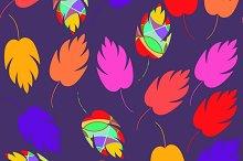 5 Vector floral tile pattern