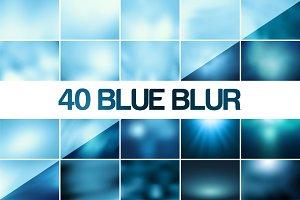 40 Blue Blur