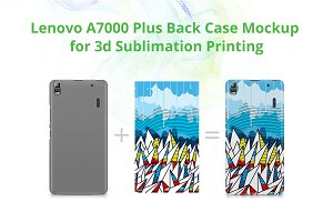 Lenovo A7000 Plus 3dCase Design Mock