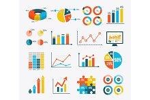 Set Graph and Charts, Diagrams
