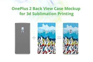 OnePlus 2 3d Case Design Mockup