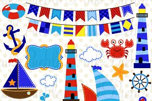 Nautical Clipart and Vectors