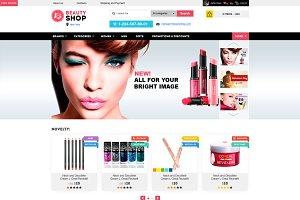 Beauty Shop – Cosmetics Store