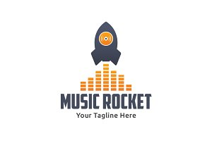 Music Rocket Logo