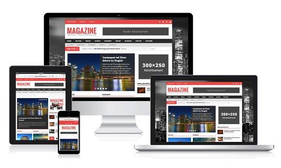 MH Magazine WordPress Theme