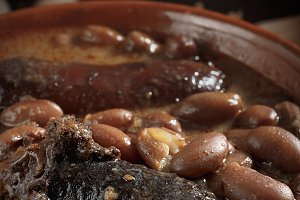 Spanish fabada with Black pudding