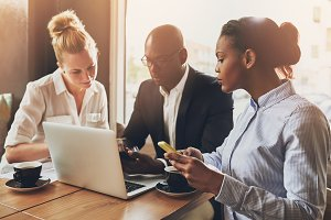 Multi ethnic entrepreneurs