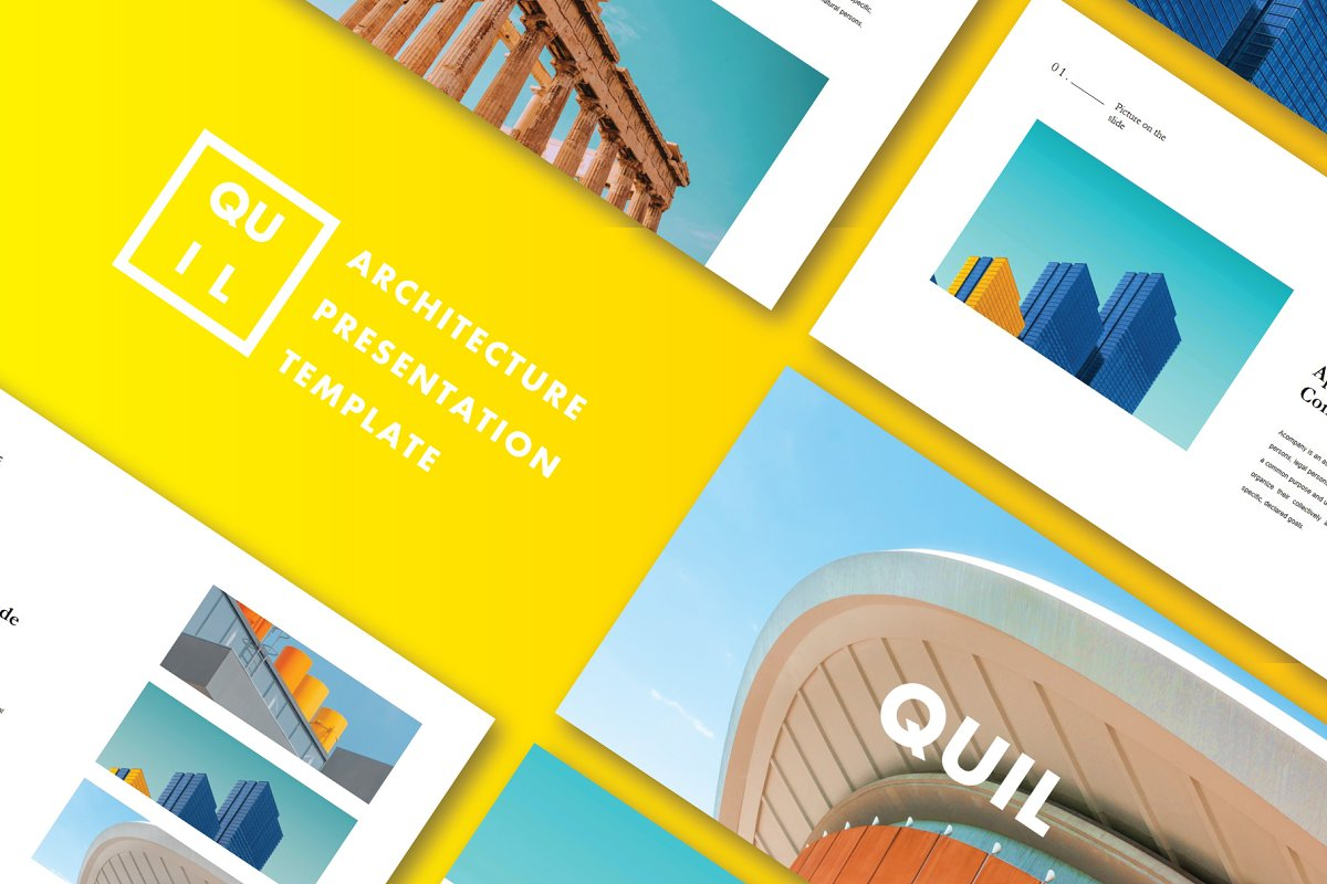 QUIL - PowerPoint Template