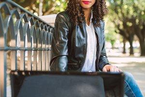 Latin American Afro Woman