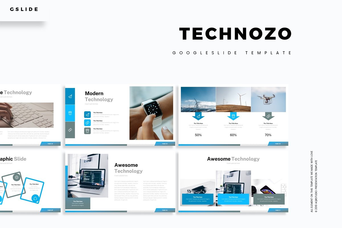 Technozo - Google Slide Template
