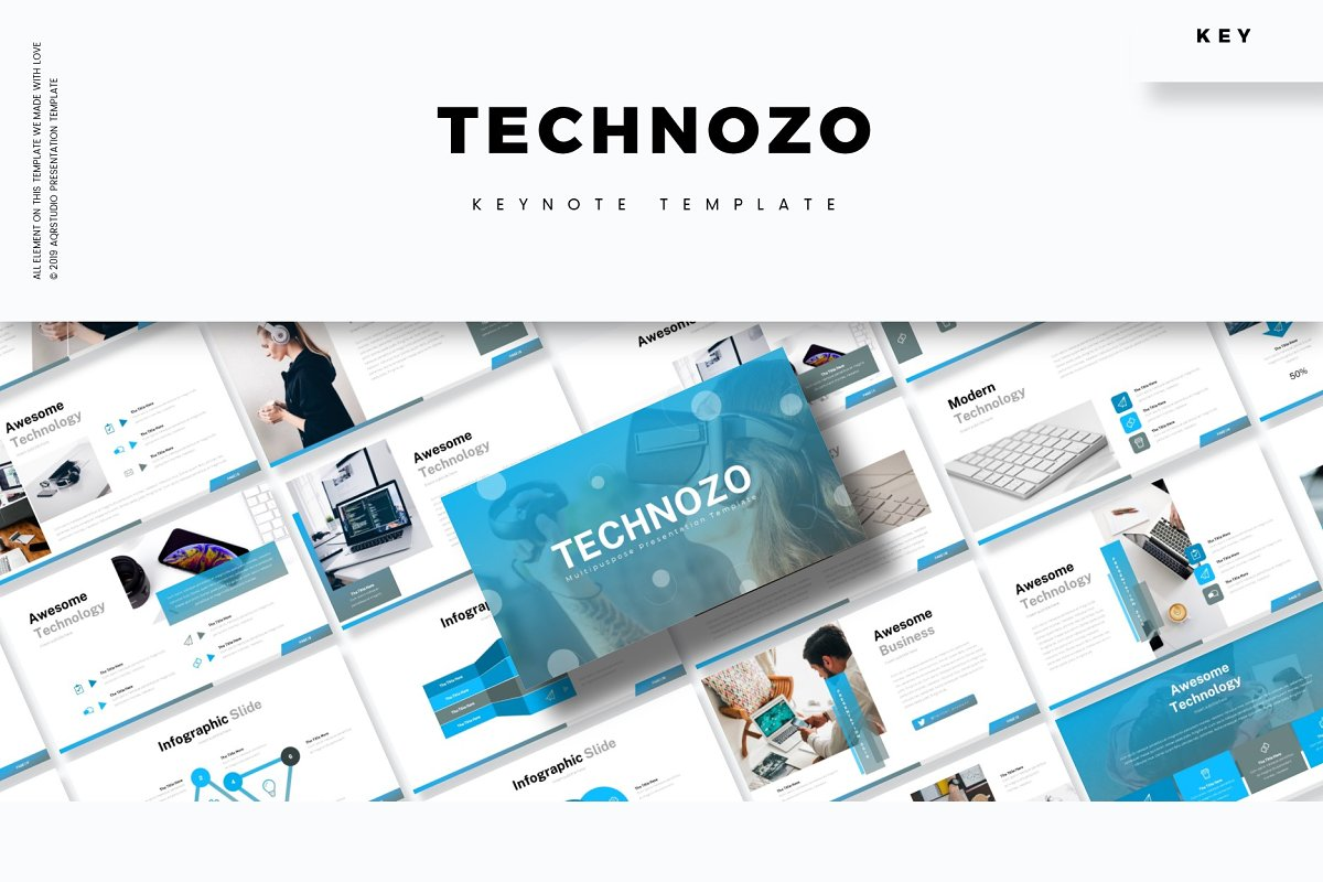 Technozo - Keynote Template