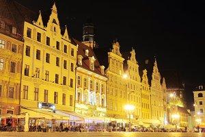 Market square,Wroclaw, Poland