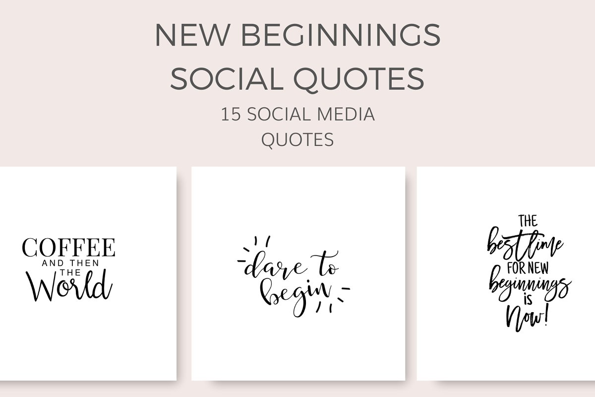 New Beginnings Quotes (15 Images)