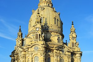 The Dresden Frauenkirche, Germany