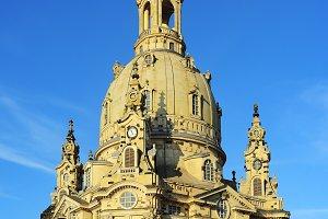 The Dresden Frauenkirche church
