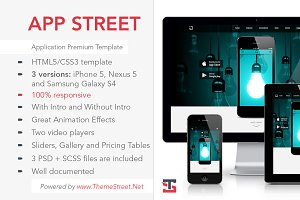 APP STREET - Application Template