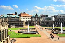 The Zwinger palace. Dresden,Germany