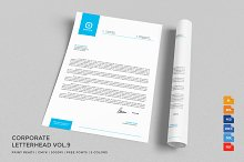 Corporate Letterhead 9 with MS Word