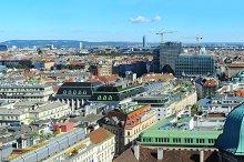 Panorama of Vienna, Austria