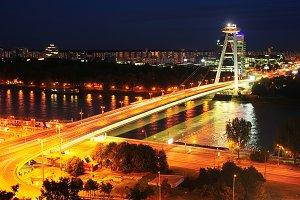 Bridge of National Uprising,Slovakia