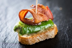 Bacon tapas