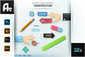 Infographic Constructor. Set 1