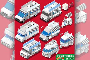 Food Truck White Collection