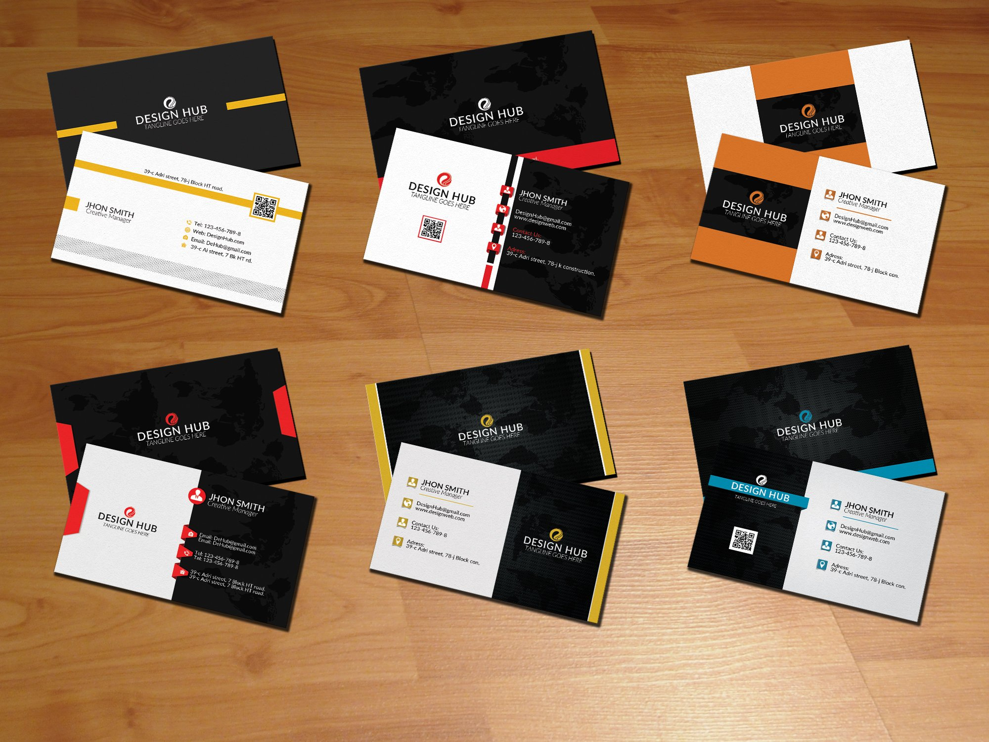 Creative business cards bundle business card templates creative creative business cards bundle business card templates creative market reheart Images