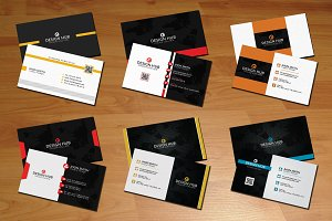 Creative business cards bundle