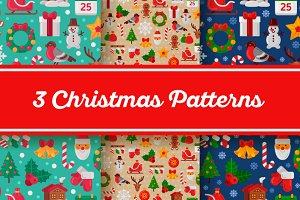3 Christmas Patterns