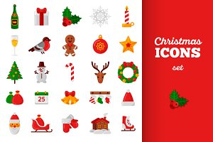 25 Christmas Icons