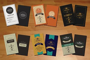 Vintage Business card Bundle