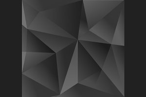 Abstract Carbon Triangle Background