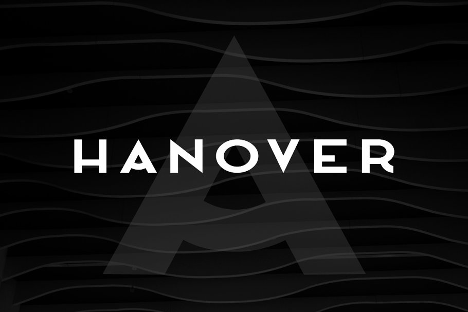 HANOVER - Minimal & Stylish Typeface