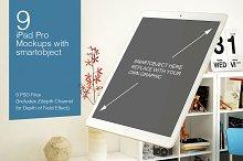 iPad Pro Mockup 9 Poses