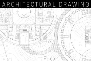 Architectural blueprint.