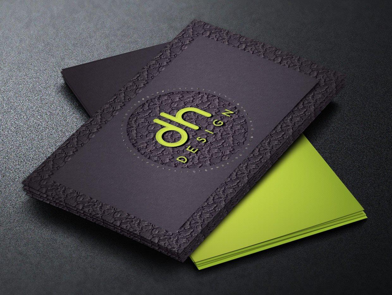 designer business card template  creative photoshop