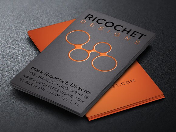 Creative designer business card business card templates creative creative designer business card business cards accmission Image collections